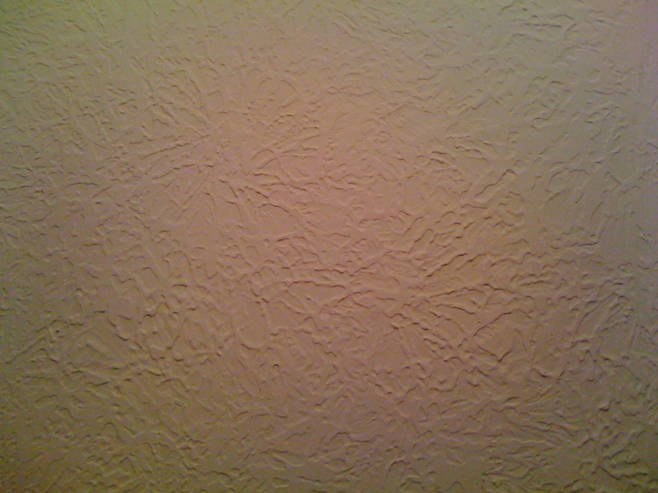 Picture Of Stomp Knockdown Drywall Texture